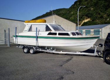 Pelin Empress 7.9M. All GRP