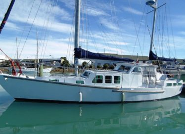 Steel Ketch Motorsailer 40Ft