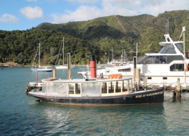 Classic Steam Boats And Business