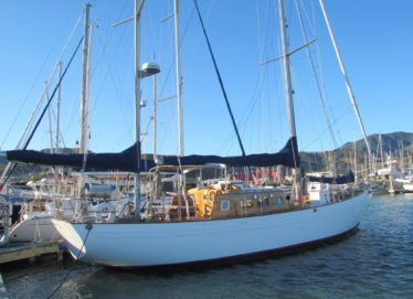 "Buchanan Pilothouse Ketch 56Ft ""Willy Bolton"""