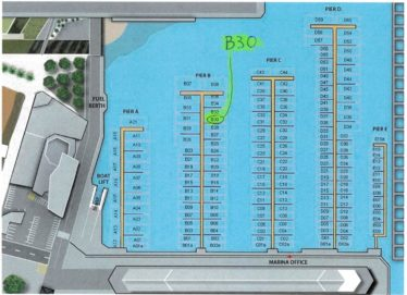 Chaffers Marina Berth B30