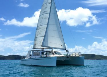 50ft Crowther Catamaran In Survey