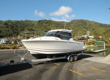 Jeanneau Merry Fisher 795 Trailer Launch