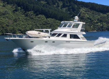 Tai Chaio 16M Flybridge Launch