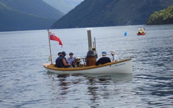 Thayer Classic Steam Launch