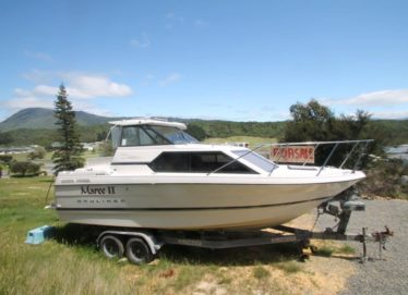 Bayliner 2452 Ciera Trailer Launch